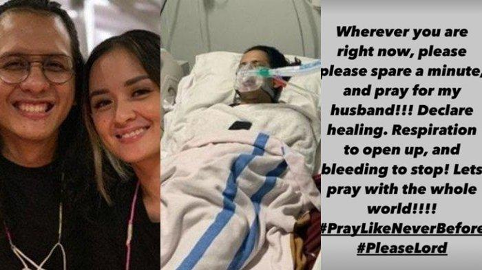 Suami Joanna Alexandra Alami Pendarahan, Kondisinya Semakin Menurun, Joanna: Tolong Doakan Suamiku!