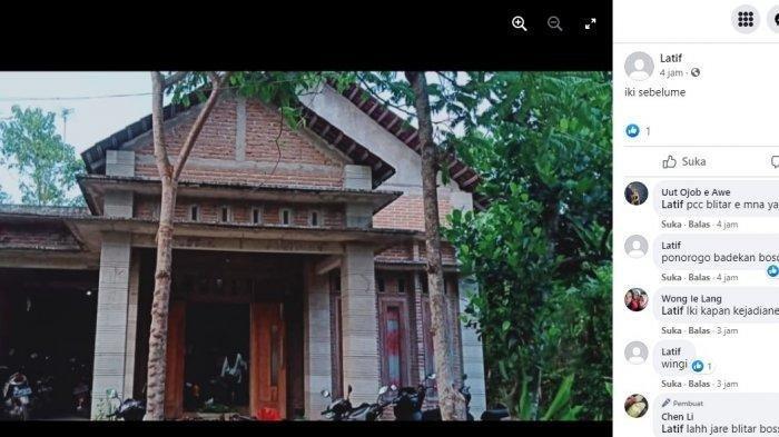 VIRAL Istri Bongkar Rumah karena Suami Selingkuh, Orang-orang Terlihat Memukul Beton dari Atap Rumah