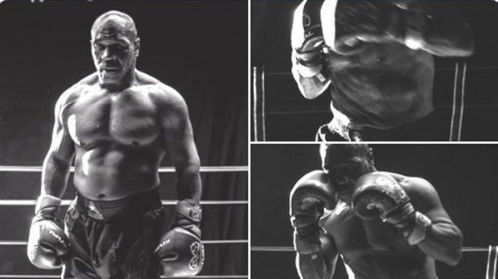 Dua minggu jelang pergelutan dua legenda tinju kelas berat terjadi, kondisi terbaru tubuh Mike Tyson jadi perhatian publik.