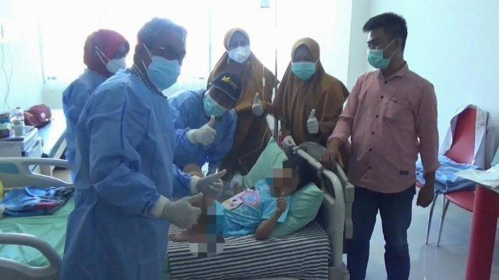 Kondisi Terkini Adik AP setelah Matanya Dioperasi, Jadi Korban Tumbal Pesugihan Ayah dan Ibu di Gowa