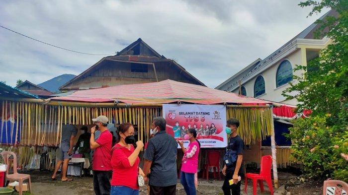 Kondisi Terkini TPS 5 Kaima, Lokasi Joune Ganda Mencoblos