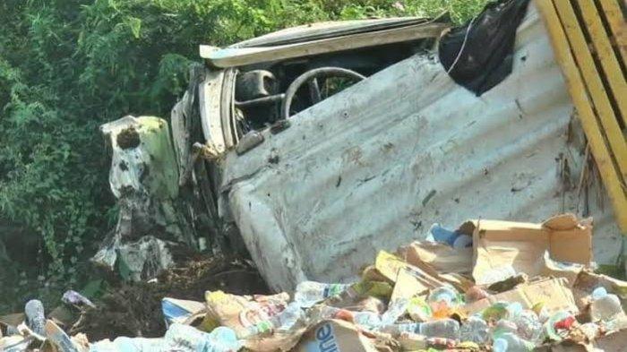 Kecelakaan Maut Tadi Pagi Pukul 07.00 WIB, Empat Orang Tewas, Truk Rem Blong Tabrak Motor dan Mobil