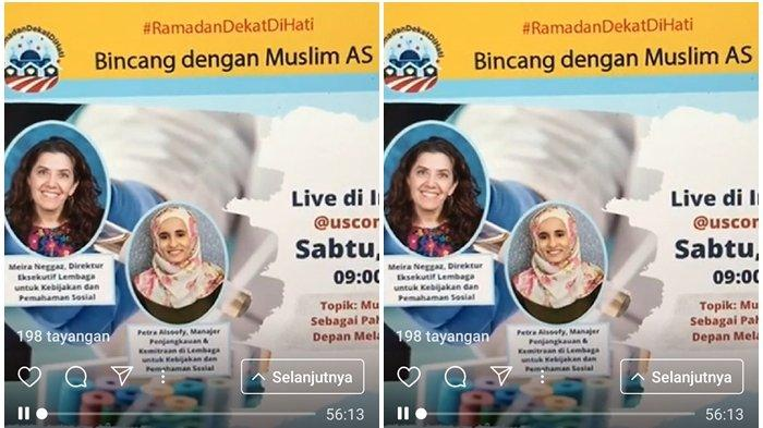 Konjen AS Surabaya Gelar Serial Char Virtual Ramadan, 'Bincang dengan Muslim AS'