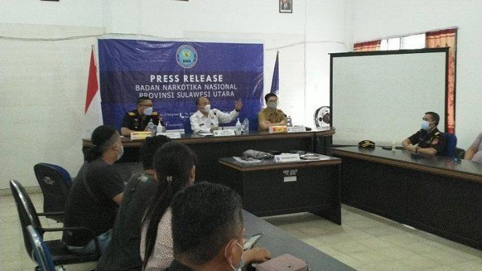 Ini Penjelasan BNNP Terkait Penangkapan 10 Pekerja di Sulut