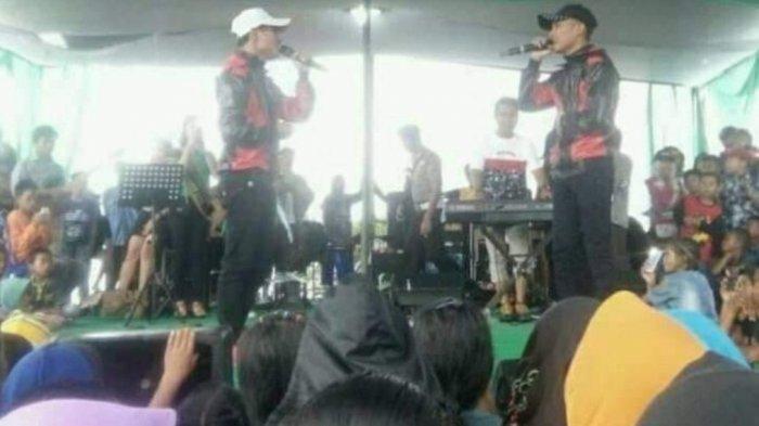 Syinen Penyanyi 'Kosong Dua' Dibui, Konser Duo Kembar di Banggai Sukses, Rizki Isi Posisi Syinen