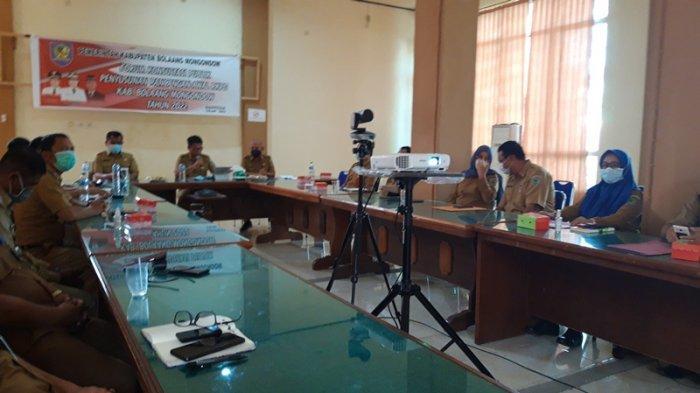 Sekda Tahlis Gallang Buka Forum Konsultasi Publik Penyusunan Rancangan Awal RKPD Tahun 2022