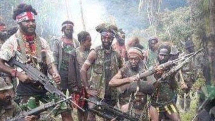 Kontak Senjata KKB Egianus Kogoya dan TNI Pecah, Sosok Berambut Panjang Tertembak, Ini Kronologinya