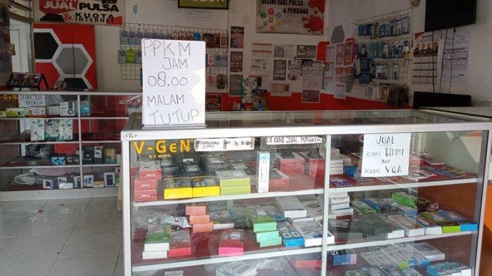 Penjual Pulsa di Boltim Mengaku Turun Omset Sejak PPKM