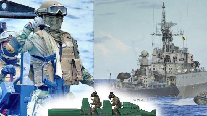 KOPASKA TNI AL RI Pernah Melakukan Misi Bunuh Diri, Ini Yang Digunakan