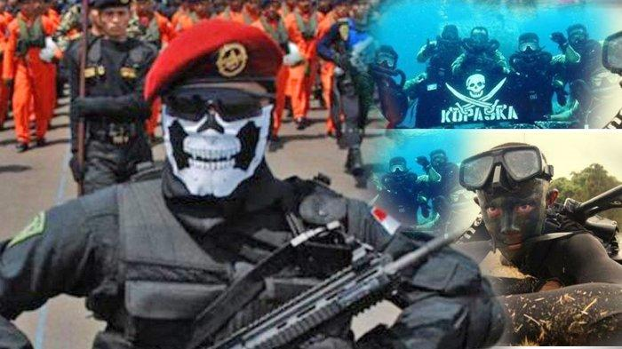 Kejam dan Ngerinya Latihan Kopaska, Simak Syarat Menjadi Anggota Pasukan Elit TNI AL Ini