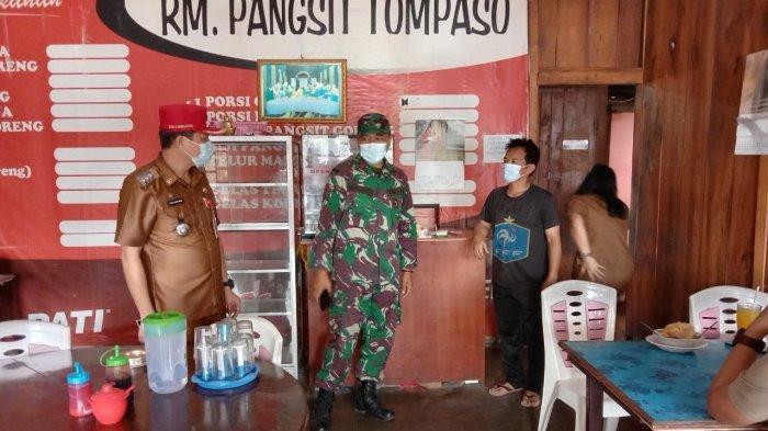 Koramil Kawangkoan Bersama Forkopimcam Gelar Operasi Yustisi