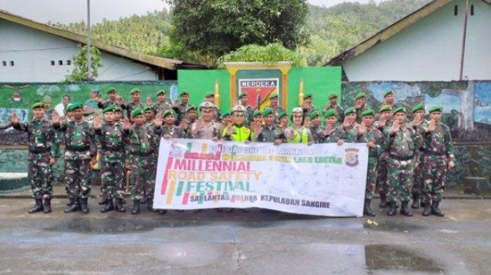 Koramil1301-05/Tahuna Siap Dukung MRSF 2019