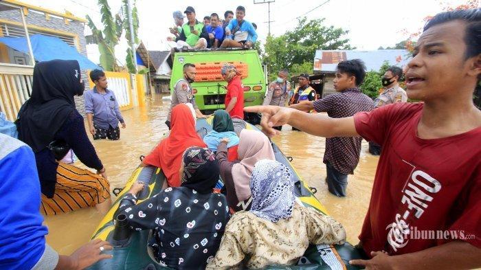 Tim Bareskrim Polri Lakukan Penyelidikan Penyebab Banjir di Kalsel, Ini Hasilnya