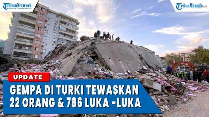 VIDEO Gempa Turki, Ratusan Orang Jadi Korban