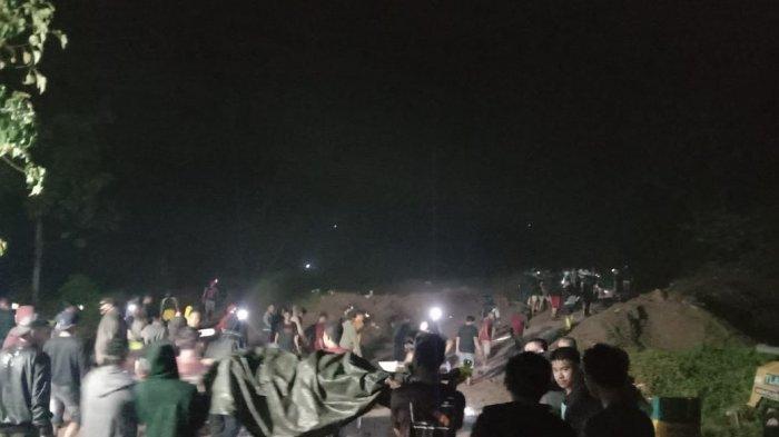 BREAKING NEWS 5 Warga Tewas di Tambang Ilegal Bakan Kabupaten Bolmong, Ini Identitasnya
