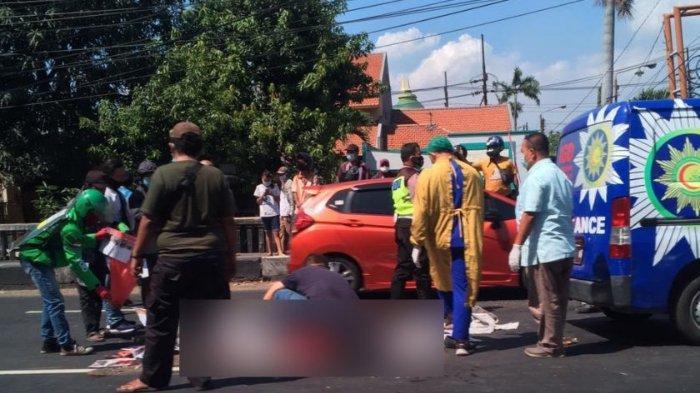 Kecelakaan Maut Tadi Pagi, Seorang Pengendara Motor Tewas, Korban Jatuh Lalu Terlindas saat Menyalip