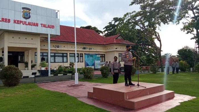 Polres Kepulauan Talaud Gelar Korps Raport, 37 Anggota Polri Naik Pangkat