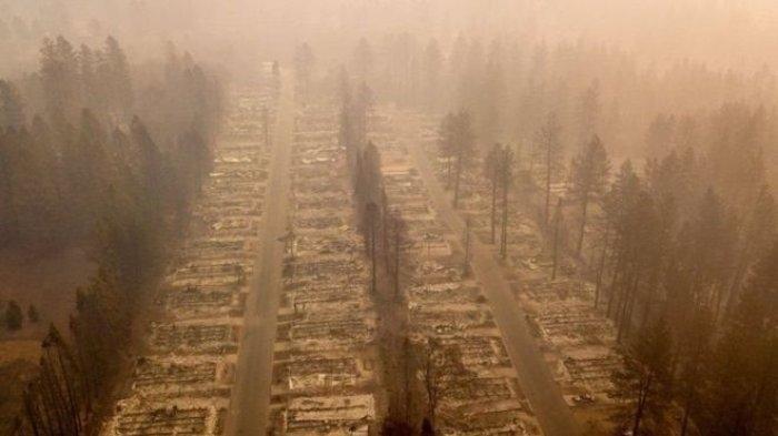 Kota Surga Berpenduduk 27 Ribu Jiwa, Musnah Terbakar, 1.011 Orang Hilang di Kalifornia