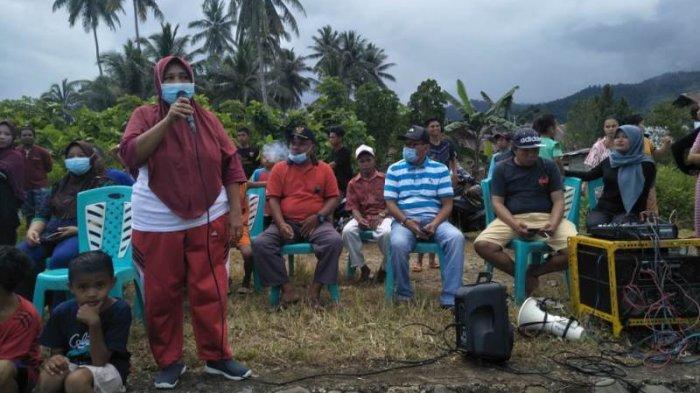 Gelar Sosialisasi, Kades Biniha Selatan Kabupaten Bolsel Ucapkan Terima Kasih ke Haji Herson Mayulu