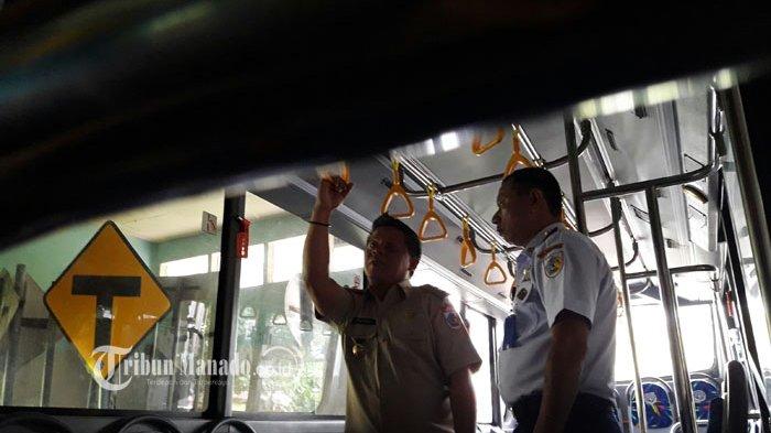 Wawali Berikan Arahan Didalam Bus Bantuan Kemenhub