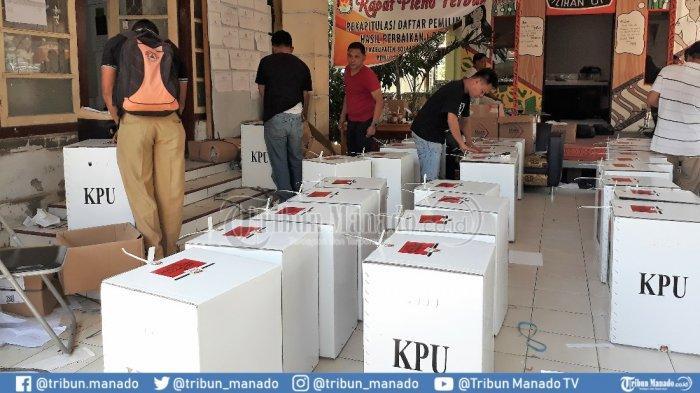 KPU Boltim Siapkan 54.588 Lembar Kertas di Pemilu 2019