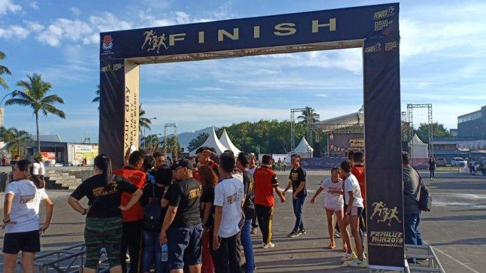 KPU Gelar Pemilu Run 2019, Diperkirakan Ribuan Orang Menyemut di Lapangan Koni Sario Manado