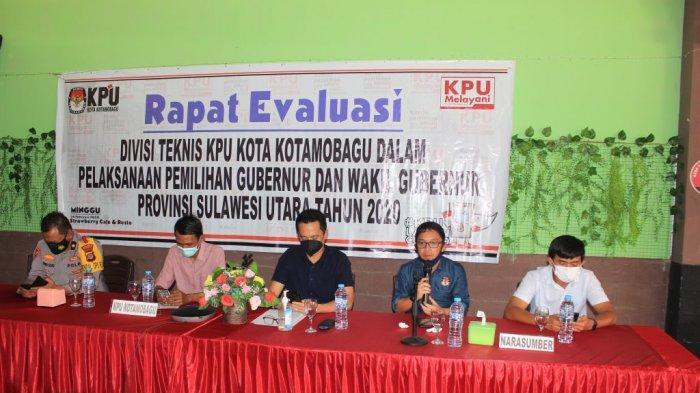 Kinerja KPU Kotamobagu Dapat Apresiasi dari Mantan DKPP