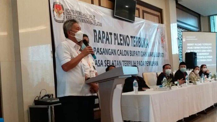 Sah, KPU Minsel Tetapkan FDW-PYR Bupati dan Wabup Terpilih
