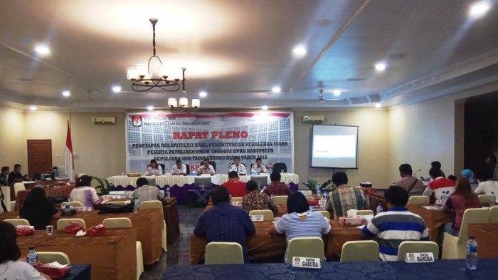 PDI Perjuangan Raih Suara Terbanyak dan Borong Tiga Kursi di Dapil I Sitaro, Ini Daftarnya