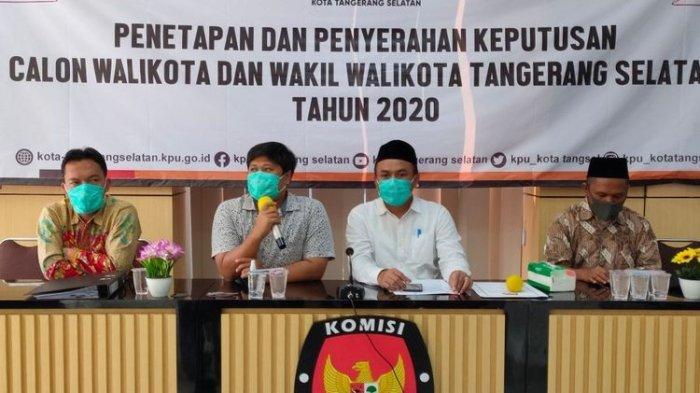 Ketua KPU Tanggerang Selatan Meninggal Dunia Terinfeksi Covid-19, Diumumkan Usai Pencoblosan Pilkada