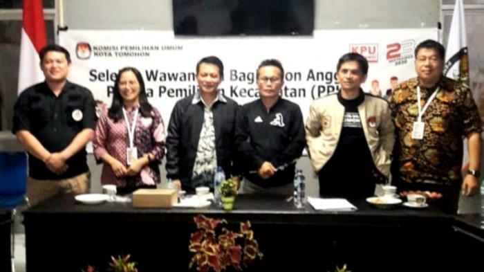 KPU Tomohon Resmi Menutup Tahapan Pemasukan Dokumen Calon Persorangan