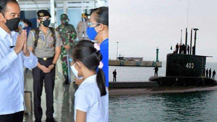 Keluarga Awak KRI Nanggala 402 Bakal Dapat Rumah dari Jokowi dan Ditawarkan Jadi Polisi dari Kapolri