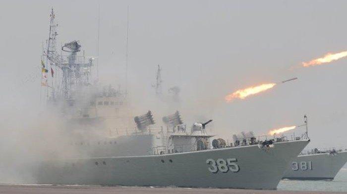 TNI Siapkan 18 Operasi Tempur, Kapal Asing China Masih di Perairan Laut Natuna, 2 KRI Menuju Lokasi