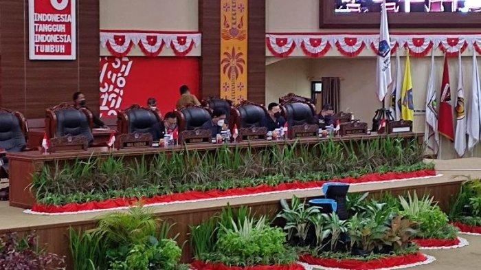 Pemprov Sulawesi Utara (Sulut) dan DPRD Sulut menyepakati Kebijakan Umum Anggaran-Prioritas Plafon Anggaran Sementara (KUA-PPAS) APBD Perubahan 2021