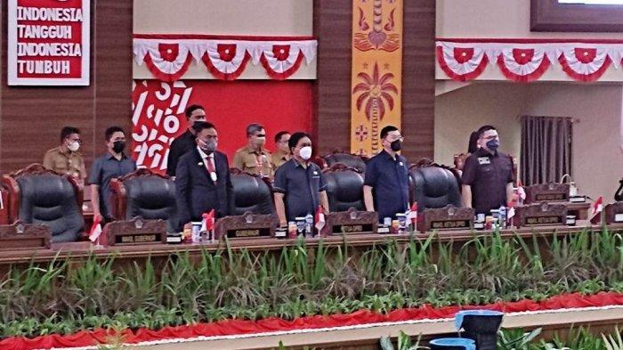 Gubernur Sulut Olly Dondokambey Teken KUA PPAS Perubahan APBD 2021