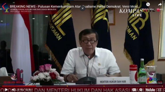 Kubu Moeldoko Ditolak Pemerintah,DPC Demokrat Solo Sebut KLB Ilegal: Kami Bersujud Syukur