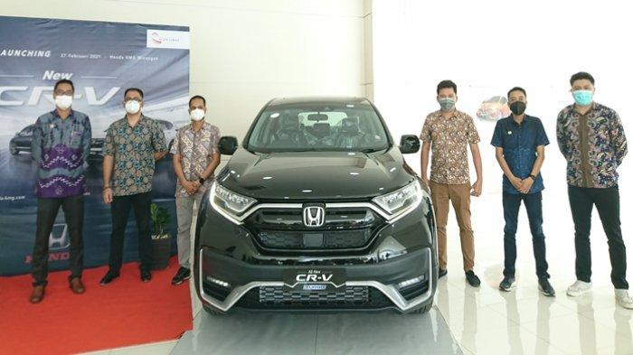 New Honda CR-V Resmi Mengaspal di Sulut, Semakin Canggih dengan Teknologi Keselamatan Honda Sensing