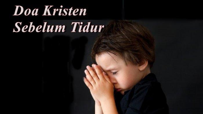 Kumpulan Doa Kristen Sebelum Tidur Untuk Keluarga, Bersyukur Atas Penyertaan Tuhan Yesus