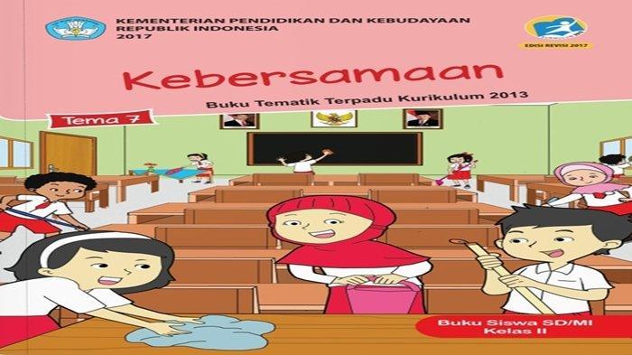 Kunci Jawaban Tema 7 Kelas 2 SD Halaman 183 184 185 186 dan 191, Buku Tematik Kebersamaan