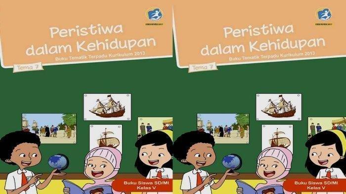 Kunci Jawaban Tema 7 Kelas 5 SD Halaman 183-190, Buku Tematik Peristiwa dalam Kehidupan