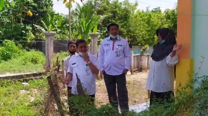 Ahmad Sholeh Pastikan Lokasi di MTs Negeri 2 Boltim Layak untuk Diusulkan dalam SBSN 2022