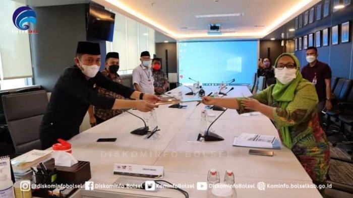 Bupati Bolsel Haji Iskandar Kamaru Perjuangkan Pembangunan 6 SPBU ke Kementerian ESDM