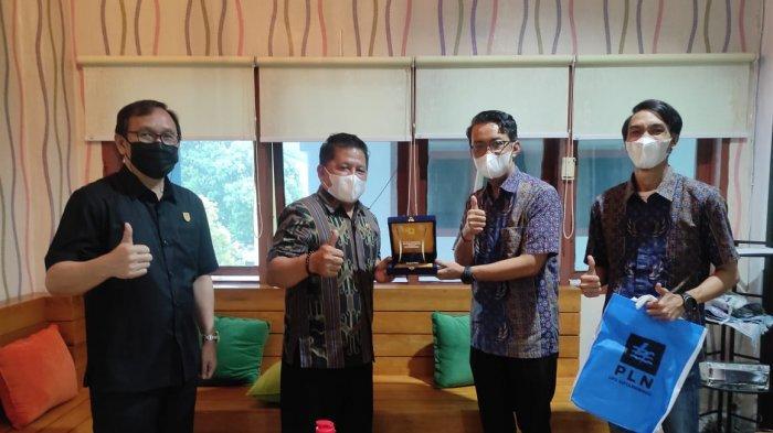 Wakil Wali Kota Nayodo Koerniawan Lakukan Kunjungan ke PLN UP3 Kotamobagu