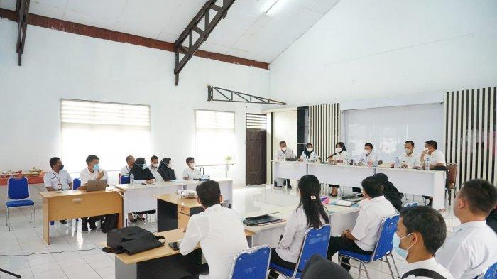 Wali Kota Tatong Bara Kunjungan Kerja ke Dinas PUPR Kota Kotamobagu