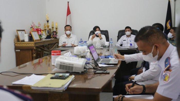 Wali Kota Tatong Bara Kunjungan Kerja ke Dinas Perhubungan Kotamobagu