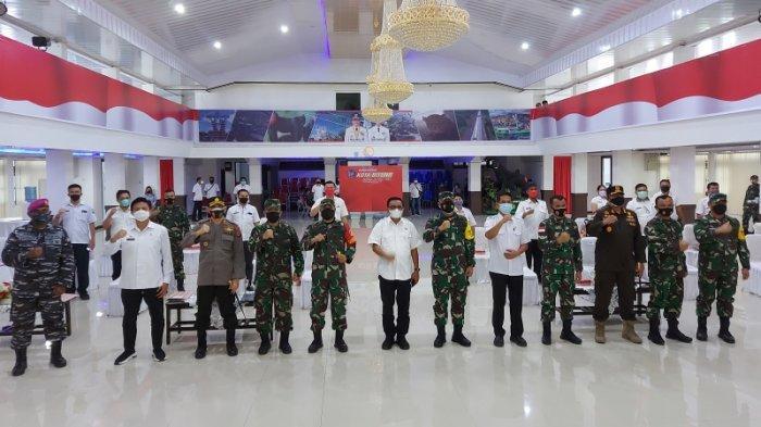 Kunjungan di Bitung, Letnan Jendral TNI Wisnoe Boedi Ingatkan Budaya Gotong Royong
