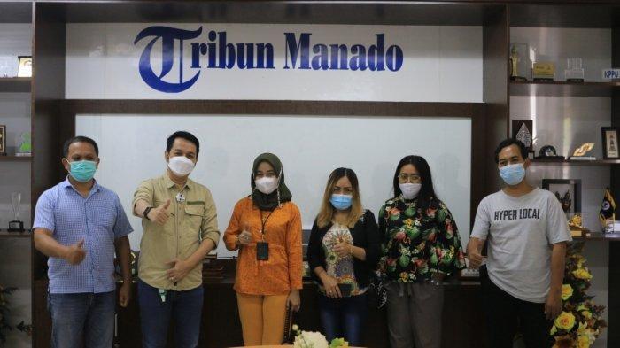 Tim Modena Manado Kunjungi Tribun Manado, Silaturahmi dan Menjalin Kerja Sama