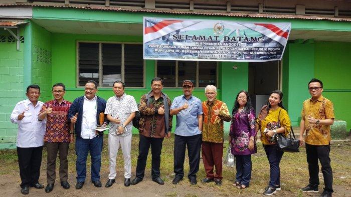 Stefanus Liow Dampingi Pimpinan DPD RI Monitoring ke Sulut