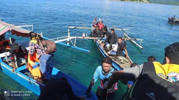 Pemkab Boltim Tinjau Pulau Racun