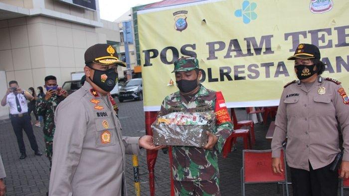 Antisipasi Libur Panjang, Wakapolda Sulut Pantau Pos Pengamanan di Sejumlah Daerah